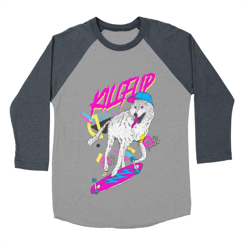 Kickflip Men's Baseball Triblend T-Shirt by Astronaut's Artist Shop