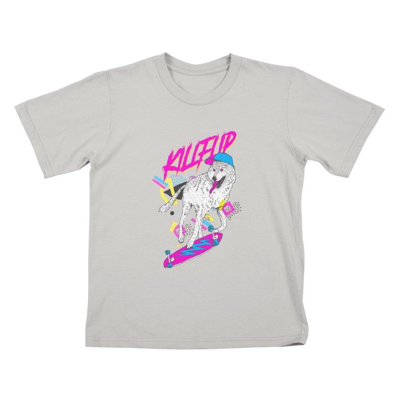 Kickflip Kids T-shirt by Astronaut's Artist Shop