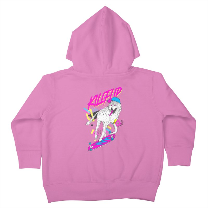 Kickflip Kids Toddler Zip-Up Hoody by Astronaut's Artist Shop
