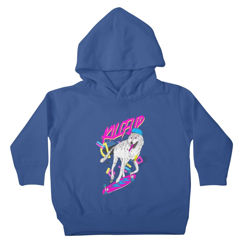 Kickflip Kids Toddler Pullover Hoody by Astronaut's Artist Shop