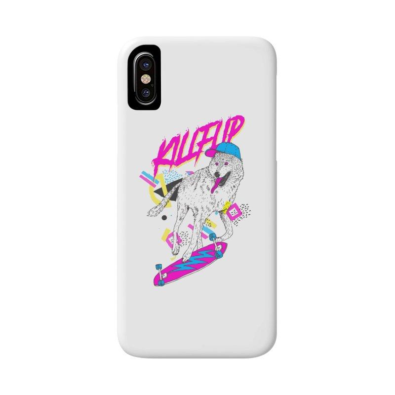 Kickflip Accessories Phone Case by Astronaut's Artist Shop