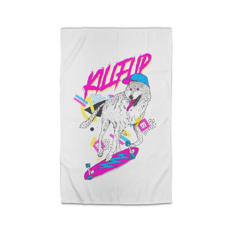 Kickflip Home Rug by Astronaut's Artist Shop