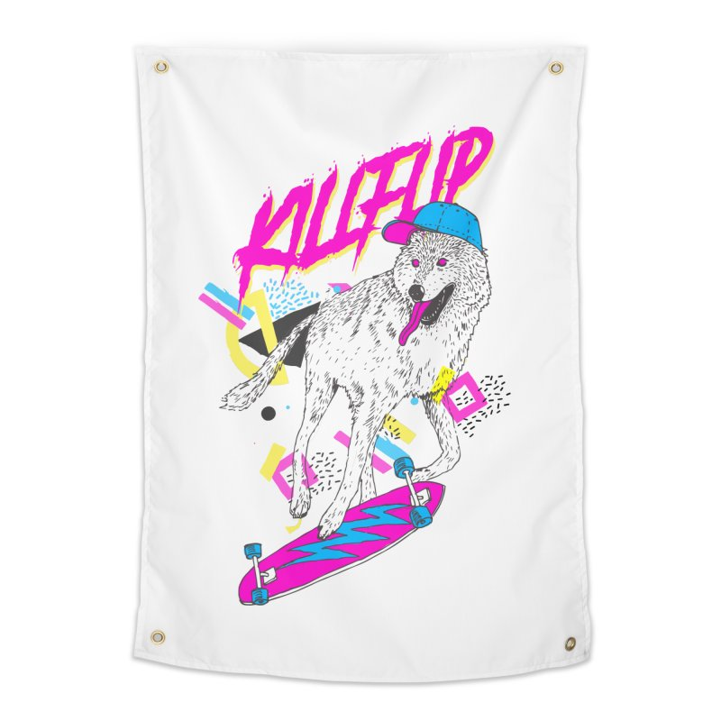 Kickflip Home Tapestry by Astronaut's Artist Shop