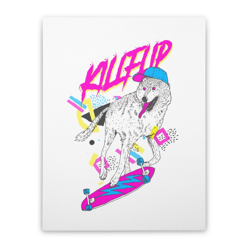 Kickflip Home Stretched Canvas by Astronaut's Artist Shop