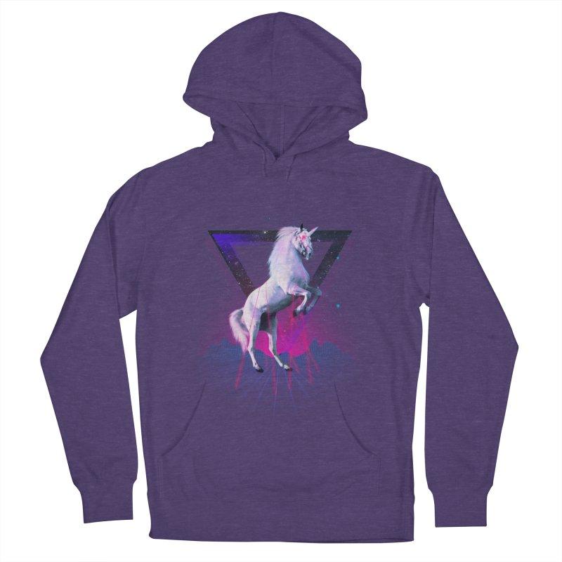 Last laser unicorn Women's Pullover Hoody by Astronaut's Artist Shop