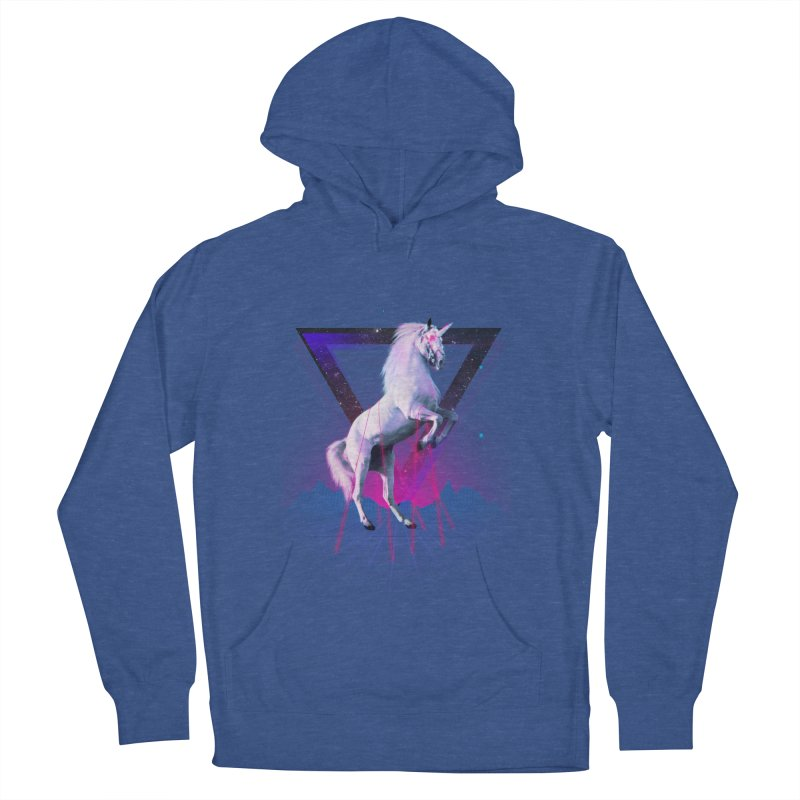 Last laser unicorn Men's Pullover Hoody by Astronaut's Artist Shop
