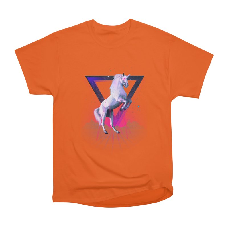 Last laser unicorn Men's Classic T-Shirt by Astronaut's Artist Shop