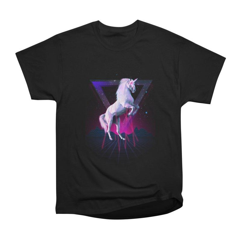 Last laser unicorn Men's Classic T-Shirt by Astronaut's Artist Shop