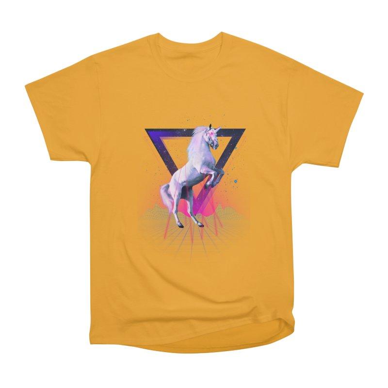 Last laser unicorn Women's Classic Unisex T-Shirt by Astronaut's Artist Shop