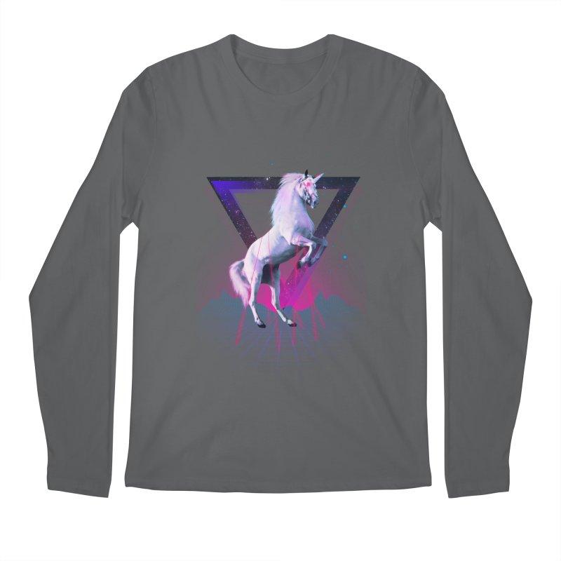 Last laser unicorn Men's Longsleeve T-Shirt by Astronaut's Artist Shop