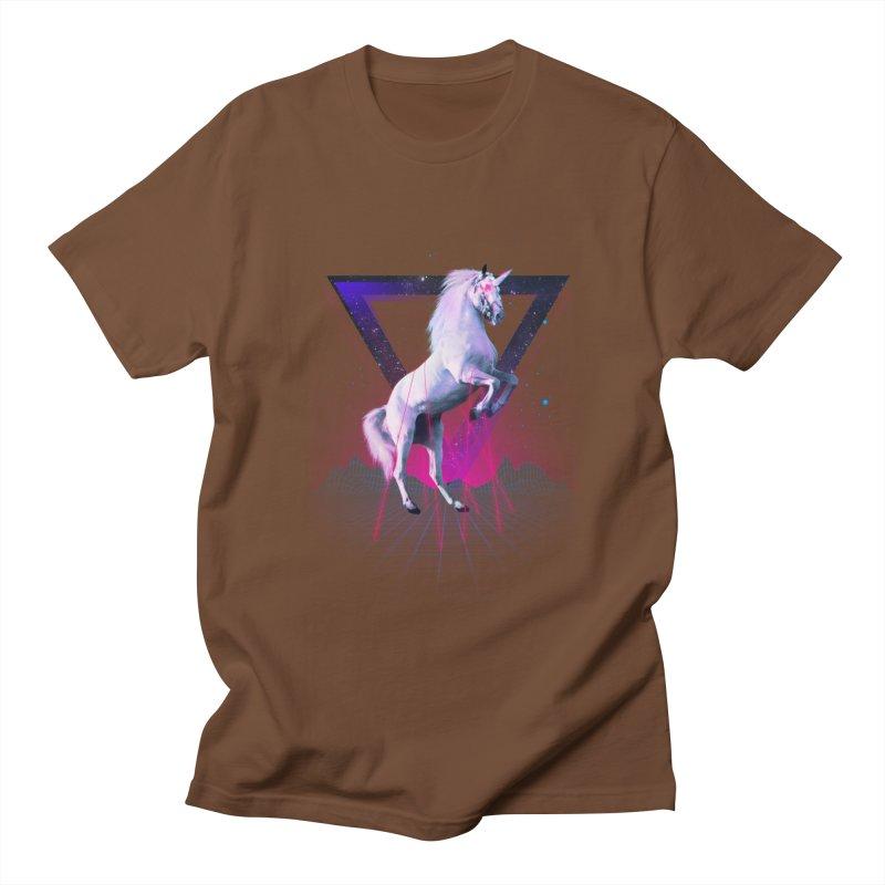 Last laser unicorn Women's Unisex T-Shirt by Astronaut's Artist Shop