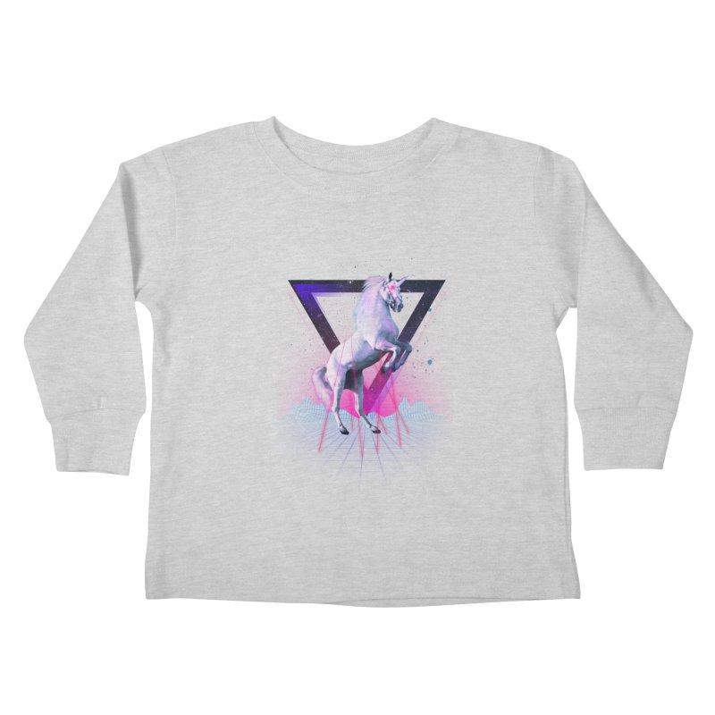 Last laser unicorn Kids Toddler Longsleeve T-Shirt by Astronaut's Artist Shop