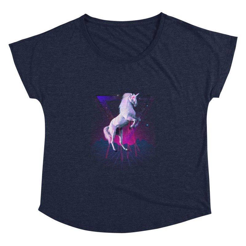 Last laser unicorn Women's Dolman by Astronaut's Artist Shop