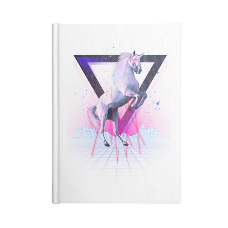 Last laser unicorn Accessories Notebook by Astronaut's Artist Shop