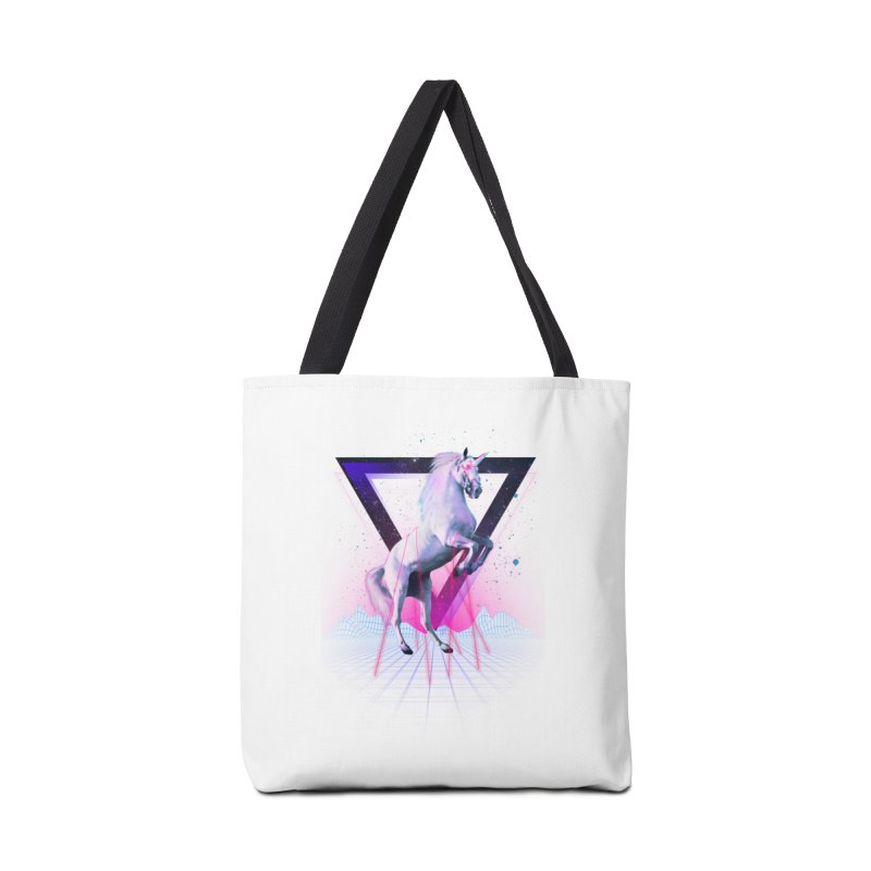 Last laser unicorn Accessories Bag by Astronaut's Artist Shop