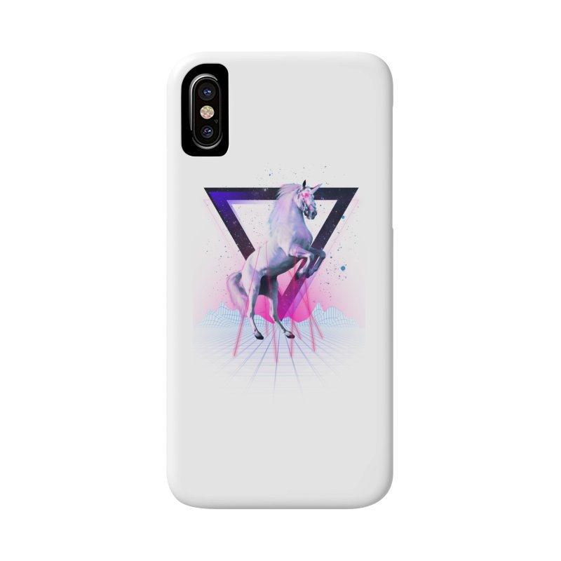 Last laser unicorn Accessories Phone Case by Astronaut's Artist Shop