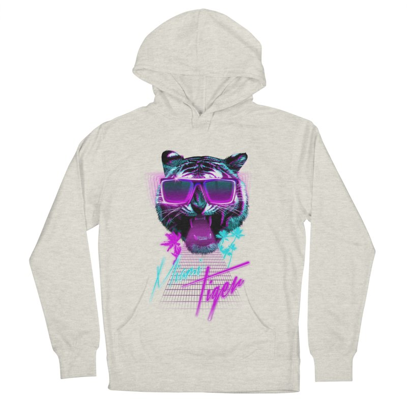 Miami tiger Women's Pullover Hoody by Astronaut's Artist Shop