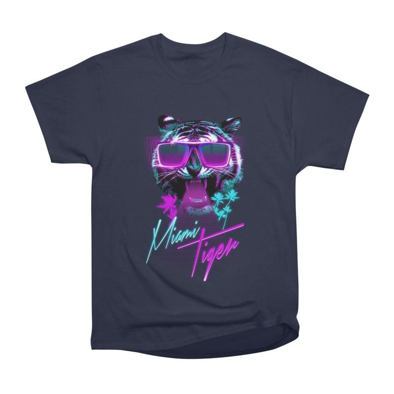 Miami tiger Women's Classic Unisex T-Shirt by Astronaut's Artist Shop