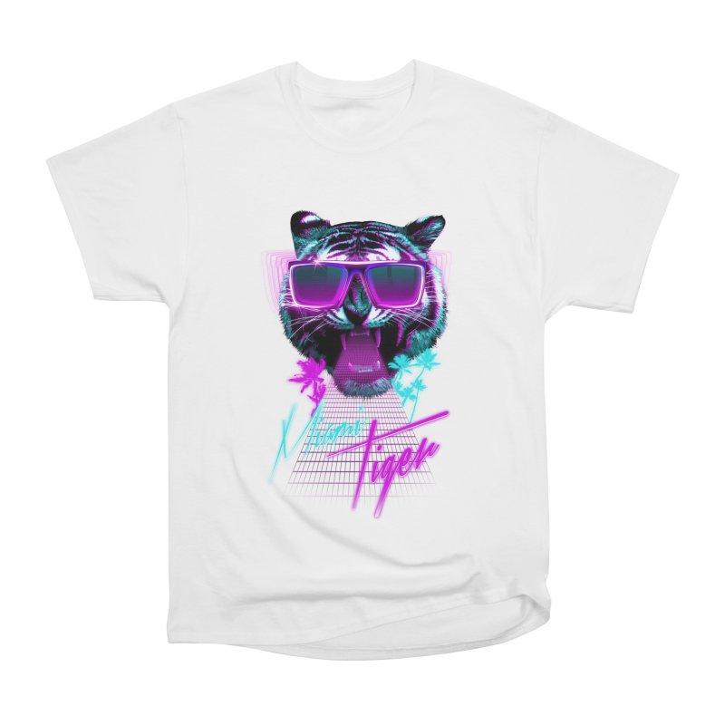 Miami tiger Men's Classic T-Shirt by Astronaut's Artist Shop