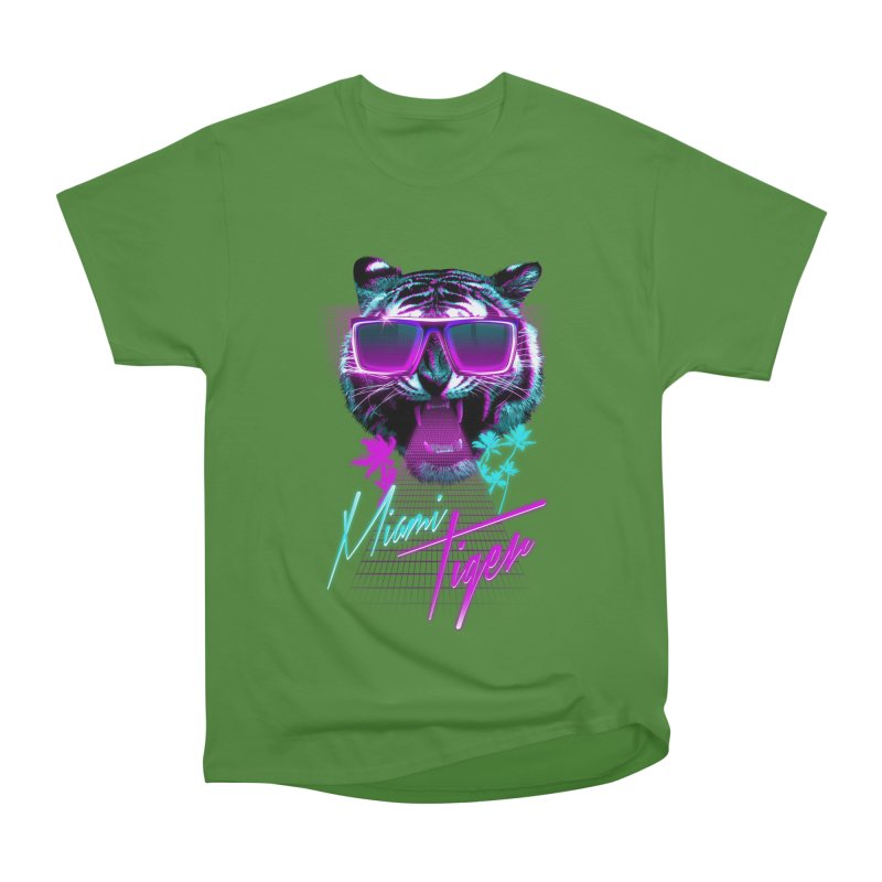Miami tiger Men's Classic T-Shirt by Astronaut's Artist Shop
