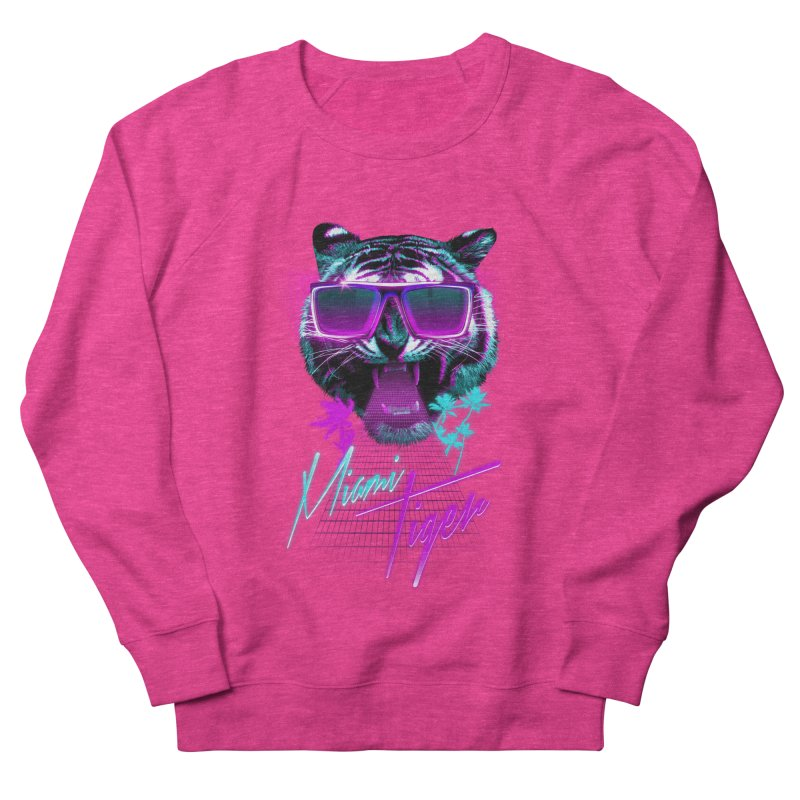 Miami tiger Women's Sweatshirt by Astronaut's Artist Shop