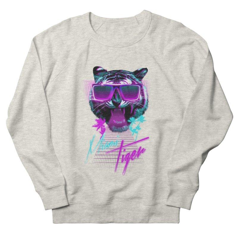 Miami tiger Men's Sweatshirt by Astronaut's Artist Shop