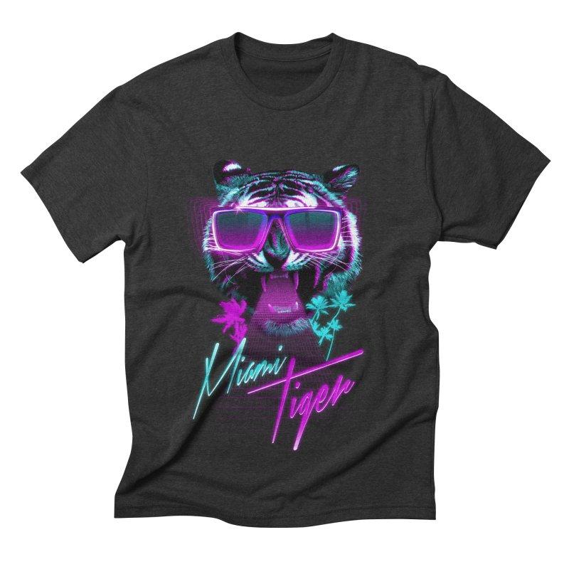 Miami tiger Men's Triblend T-shirt by Astronaut's Artist Shop
