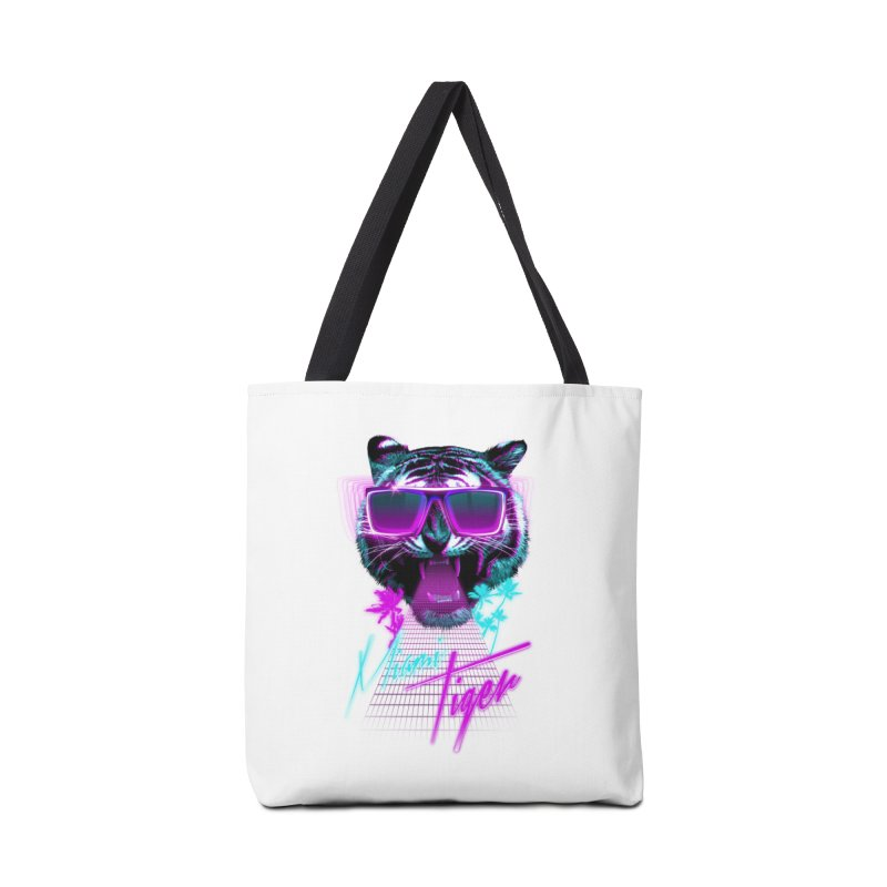 Miami tiger Accessories Bag by Astronaut's Artist Shop