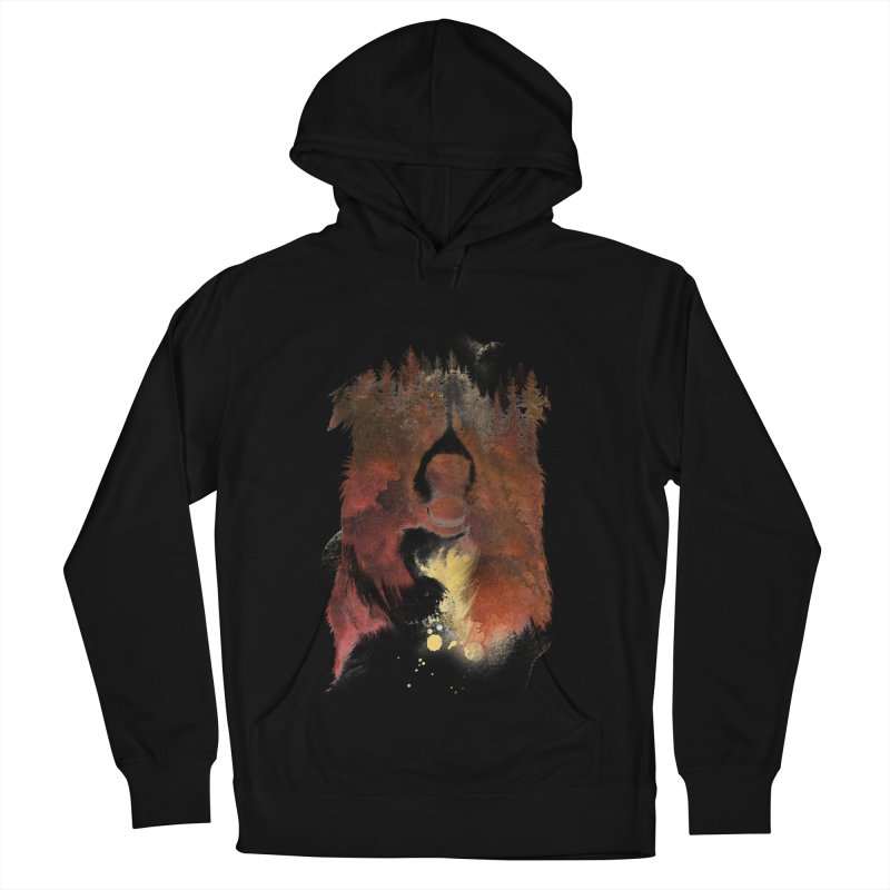 One night in the forest Women's Pullover Hoody by Astronaut's Artist Shop