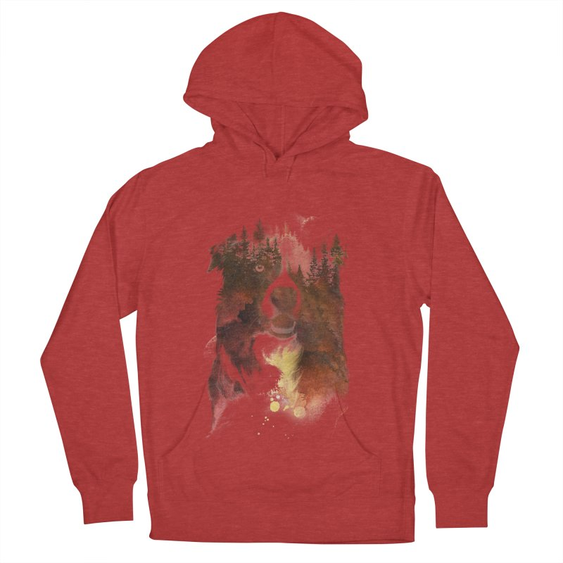One night in the forest Men's Pullover Hoody by Astronaut's Artist Shop
