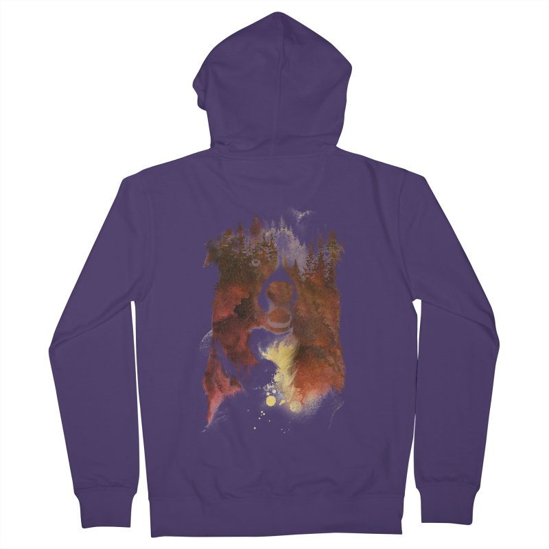 One night in the forest Women's Zip-Up Hoody by Astronaut's Artist Shop