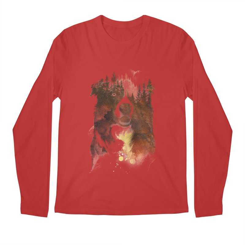 One night in the forest Men's Longsleeve T-Shirt by Astronaut's Artist Shop