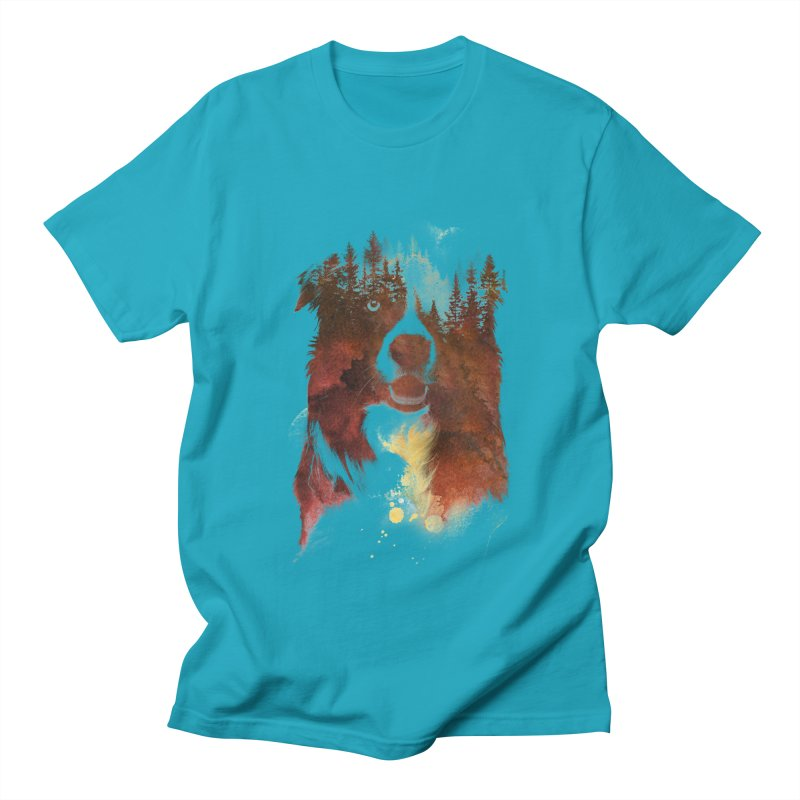 One night in the forest Women's Unisex T-Shirt by Astronaut's Artist Shop
