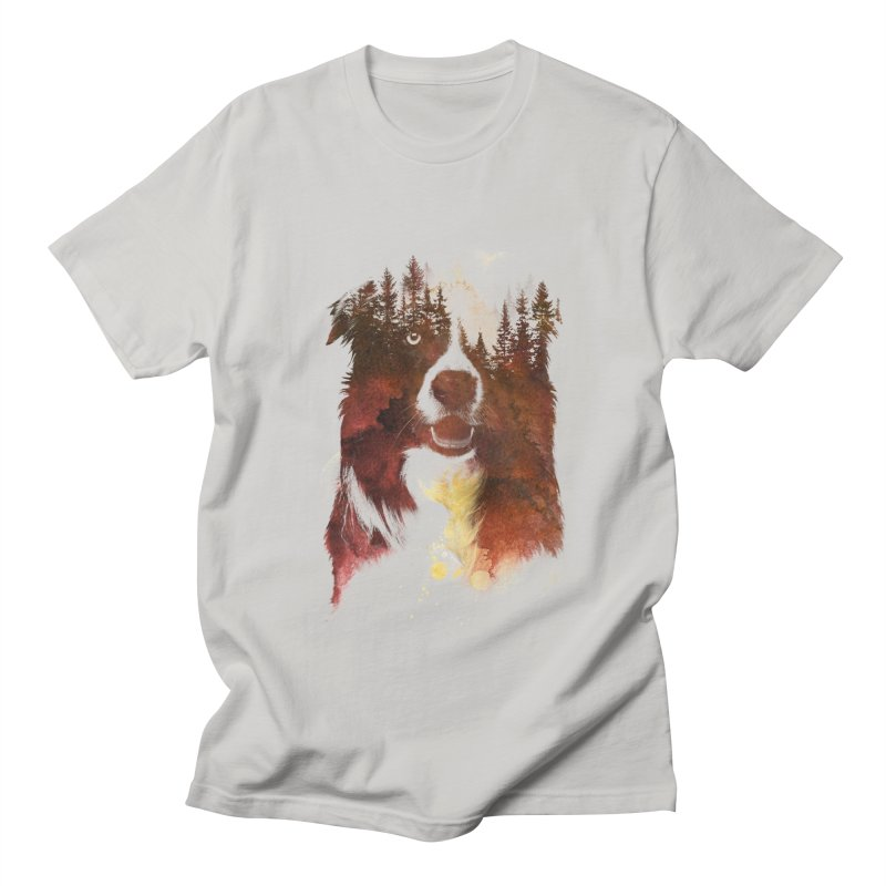 One night in the forest Men's T-shirt by Astronaut's Artist Shop