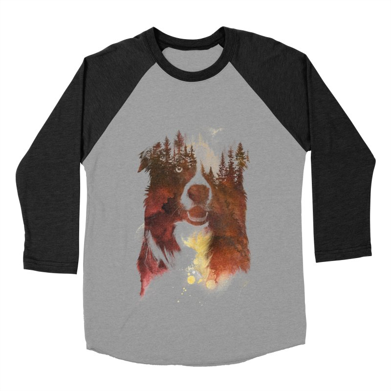 One night in the forest Women's Baseball Triblend T-Shirt by Astronaut's Artist Shop