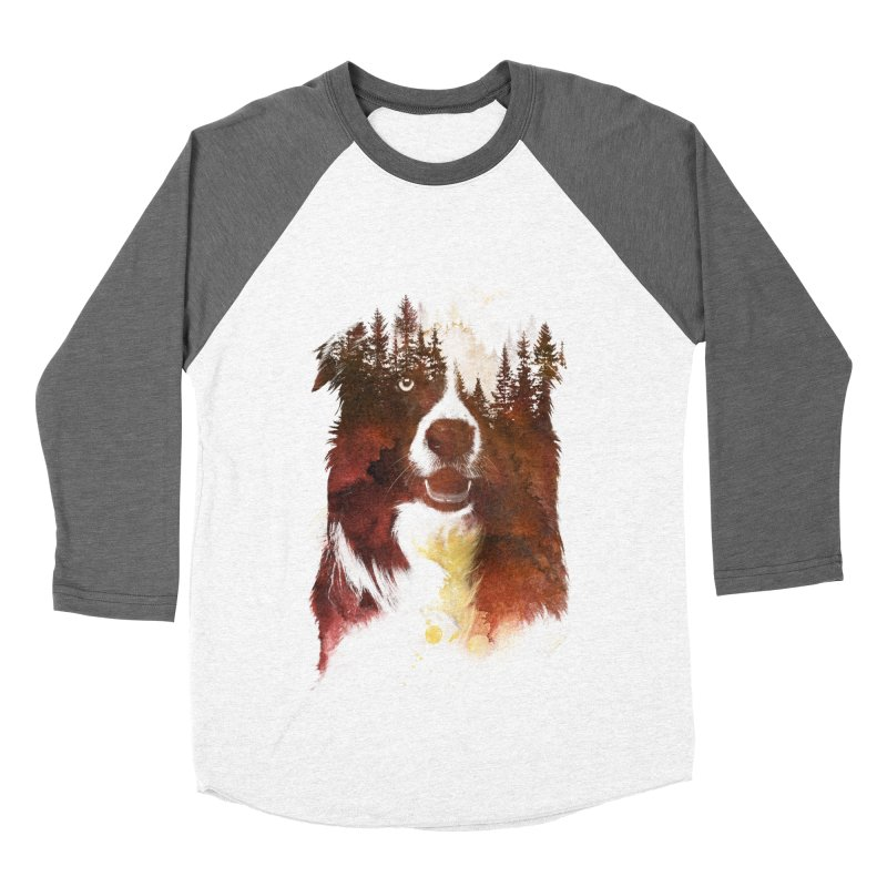 One night in the forest Men's Baseball Triblend T-Shirt by Astronaut's Artist Shop