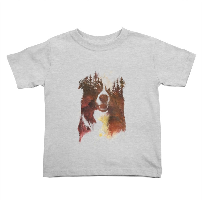 One night in the forest Kids Toddler T-Shirt by Astronaut's Artist Shop