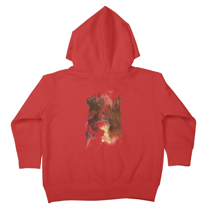 One night in the forest Kids Toddler Zip-Up Hoody by Astronaut's Artist Shop