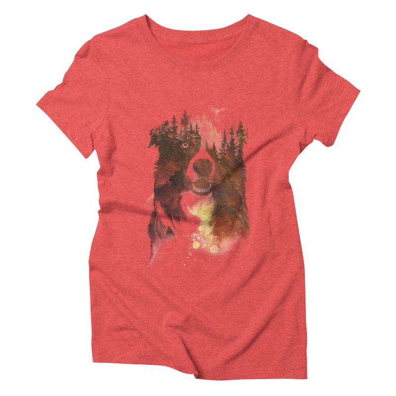 One night in the forest Women's Triblend T-Shirt by Astronaut's Artist Shop