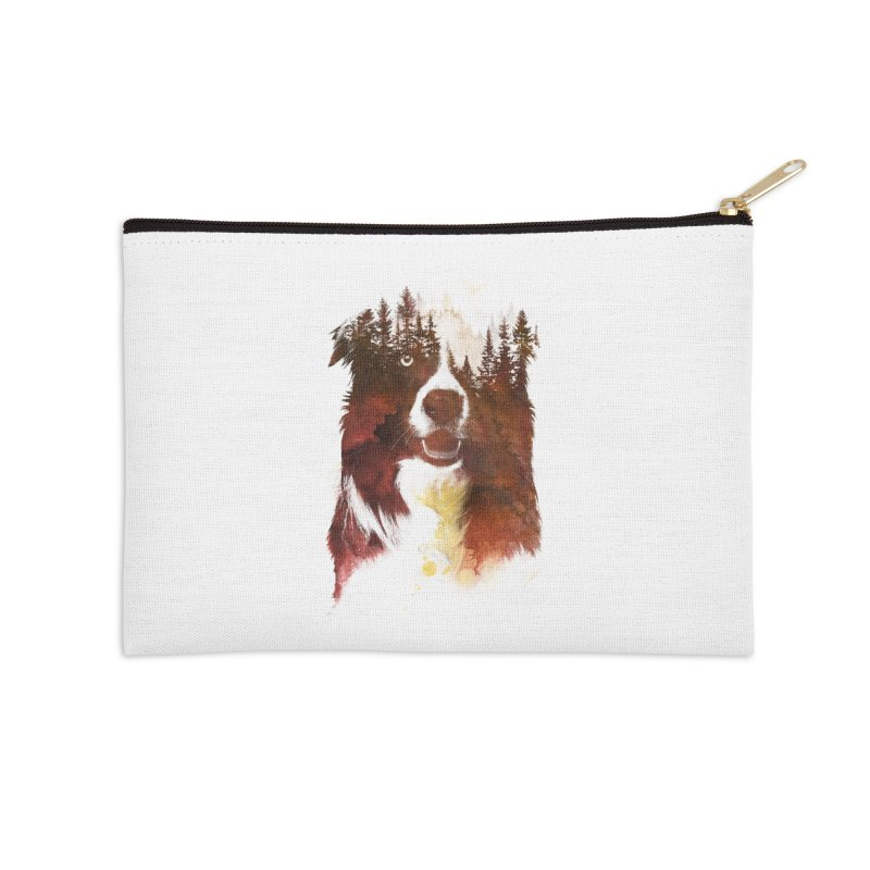 One night in the forest Accessories Zip Pouch by Astronaut's Artist Shop