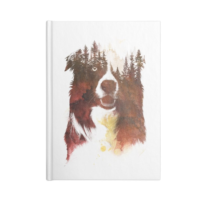 One night in the forest Accessories Notebook by Astronaut's Artist Shop