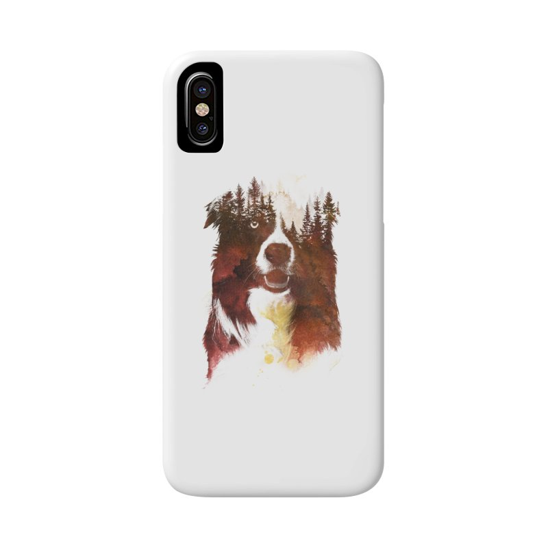 One night in the forest Accessories Phone Case by Astronaut's Artist Shop