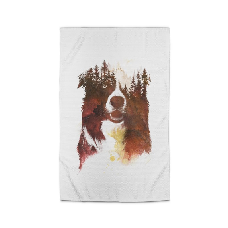 One night in the forest Home Rug by Astronaut's Artist Shop
