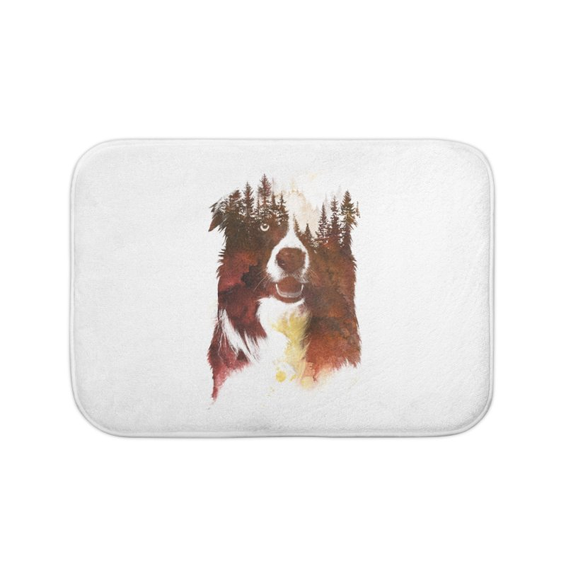 One night in the forest Home Bath Mat by Astronaut's Artist Shop