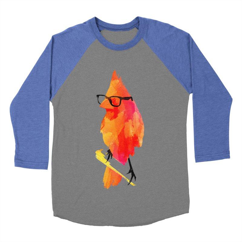 Punk birdy Women's Baseball Triblend T-Shirt by Astronaut's Artist Shop