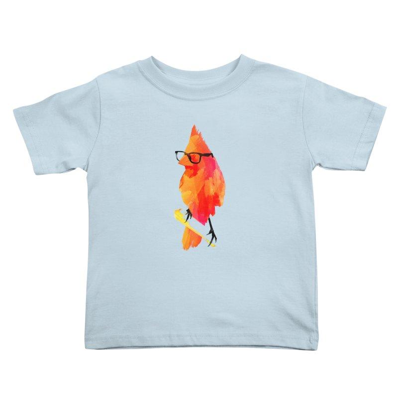 Punk birdy Kids Toddler T-Shirt by Astronaut's Artist Shop