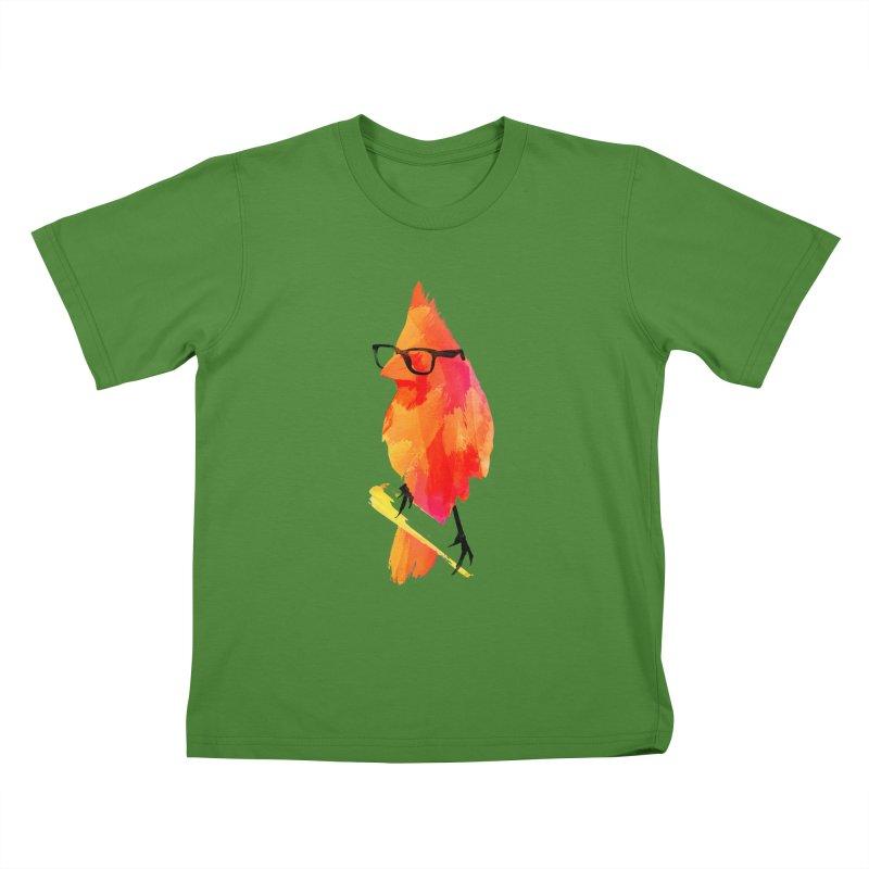 Punk birdy Kids T-shirt by Astronaut's Artist Shop