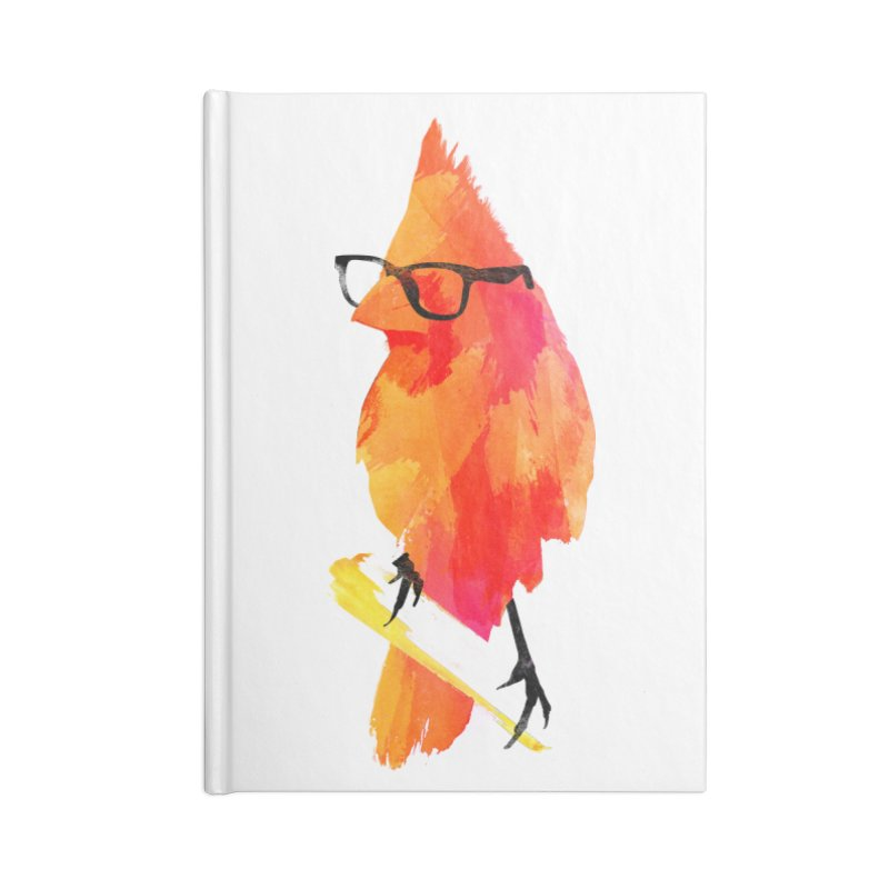 Punk birdy Accessories Notebook by Astronaut's Artist Shop