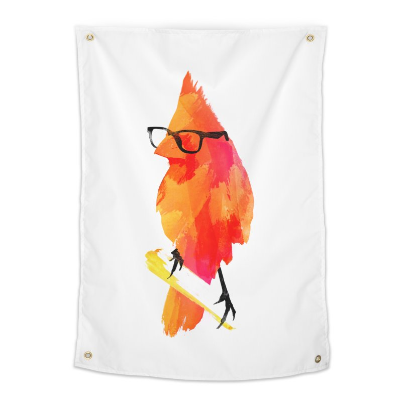 Punk birdy Home Tapestry by Astronaut's Artist Shop