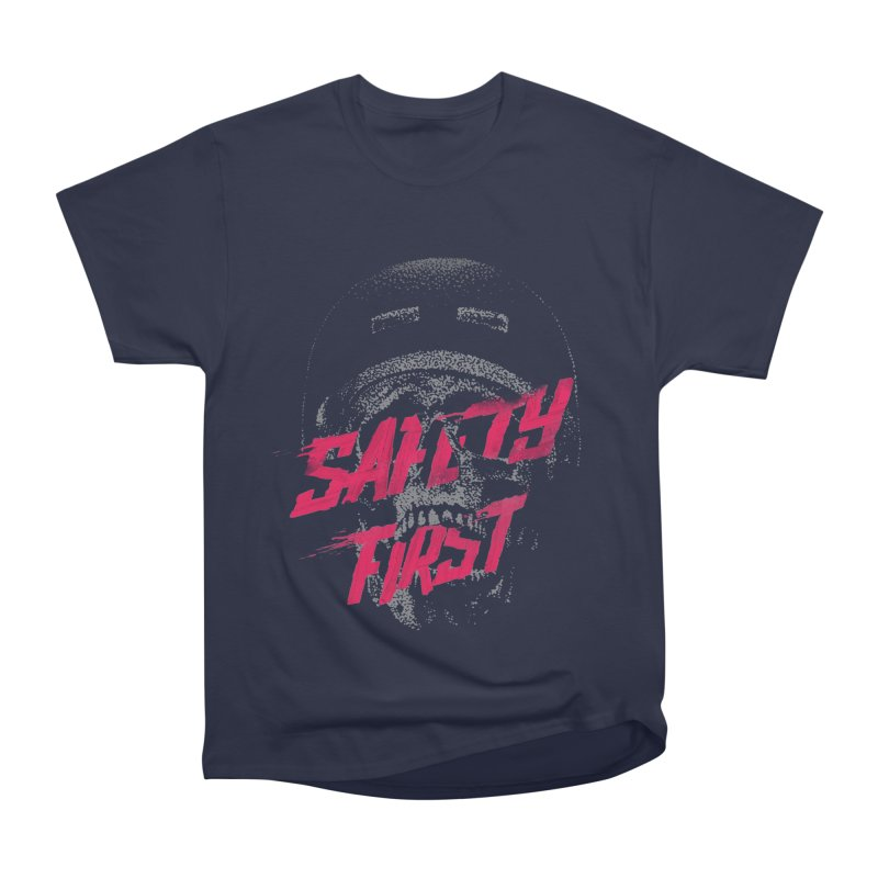 Safety first Men's Classic T-Shirt by Astronaut's Artist Shop